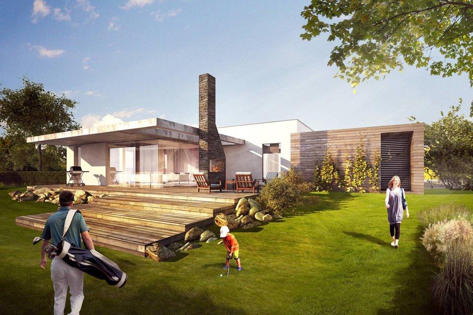 Realizace rodinných domů na klíč včetně projektu