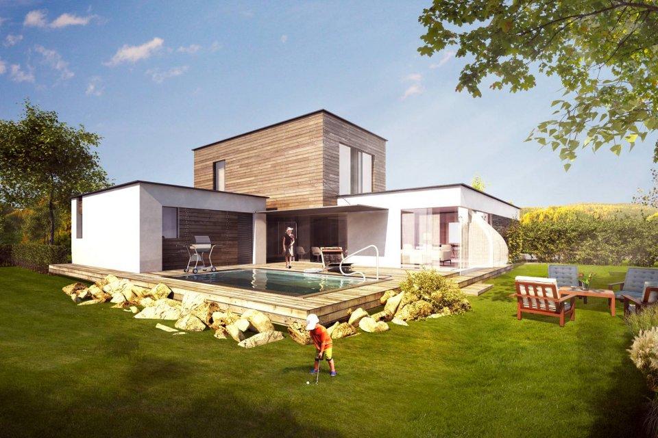 Realizace rodinných domů včetně projektu