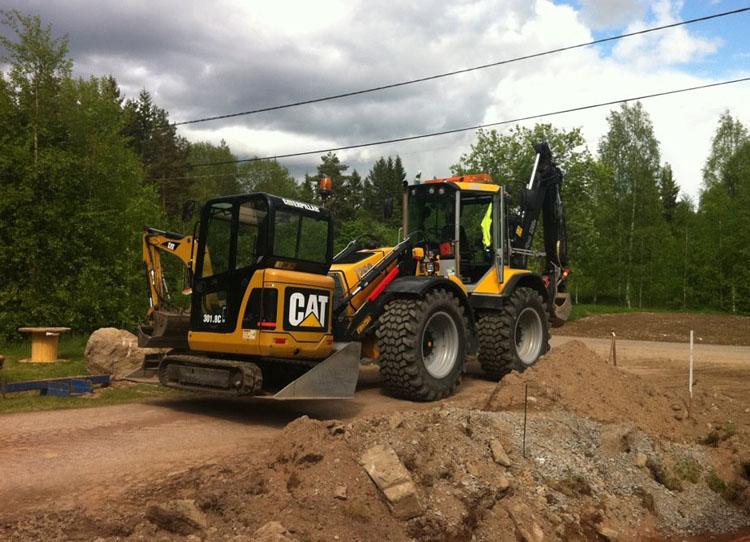 Stavební práce a terénní úpravy dle požadavků zadavatele