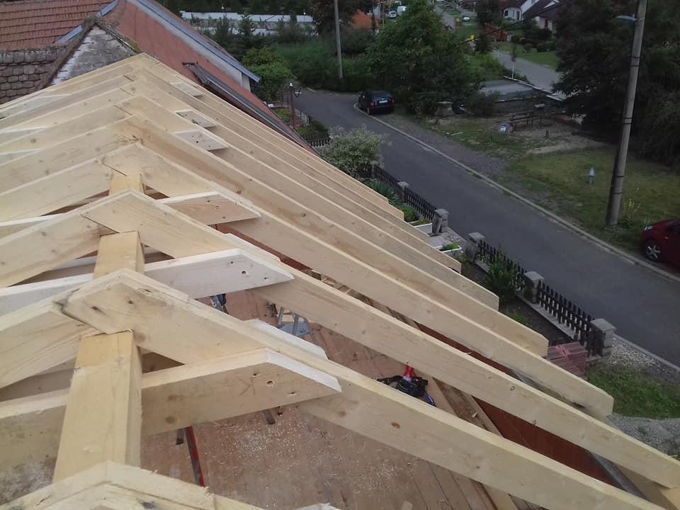 Výroba, opravy a rekonstrukce krovů