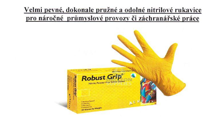 Žlute nitrilové rukavice prodej Praha