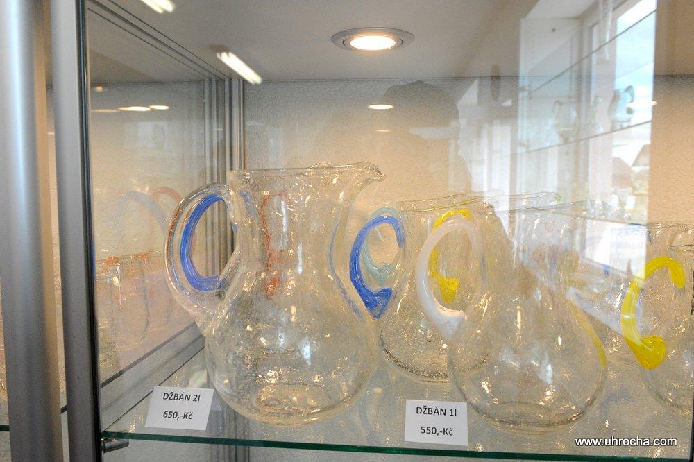 Výrobky z foukaného skla