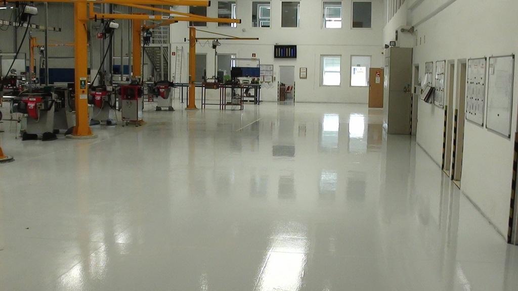 Realizace průmyslových podlah