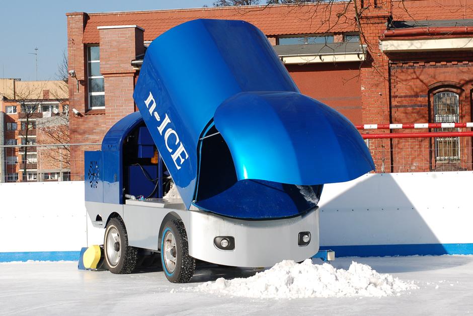 Prodej rolby na úpravu ledu N-ICE