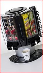 Nápojové automaty, kávovary, výrobníky vody, espresso automaty, prodej