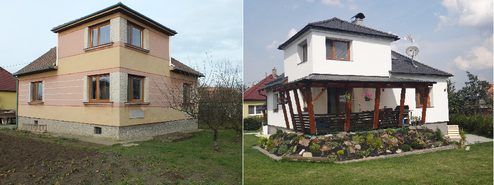 Rekonstrukce domů a bytů