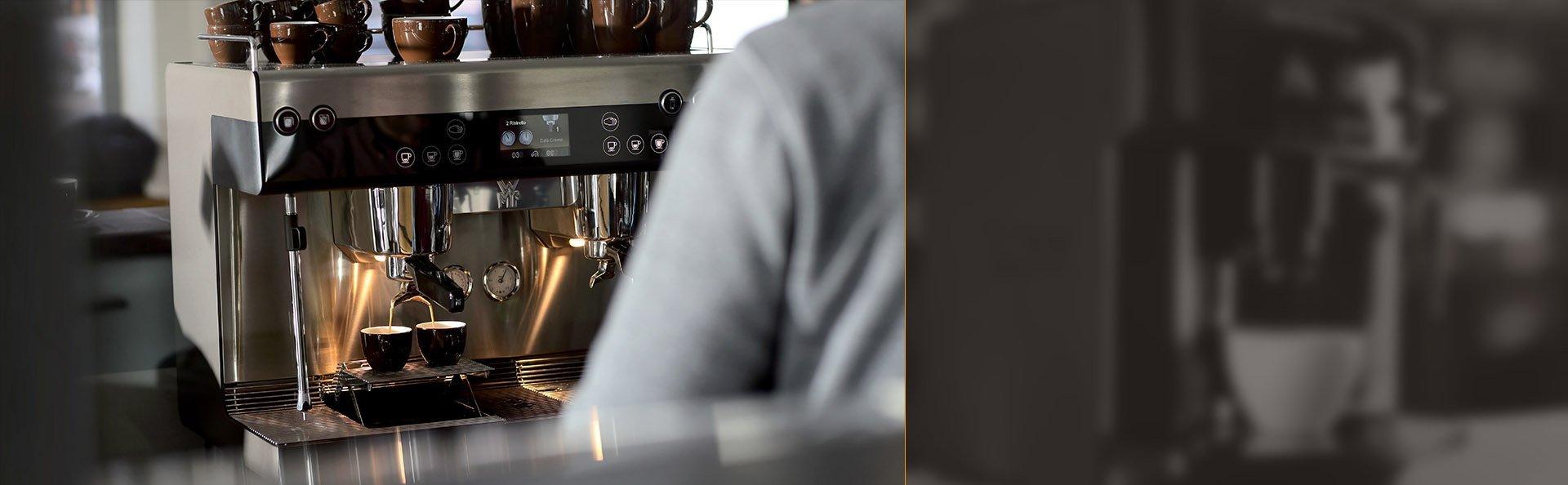 Automatische und halbautomatische Kaffeemaschinen WMF - professionelle Ausrüstung für Cafés