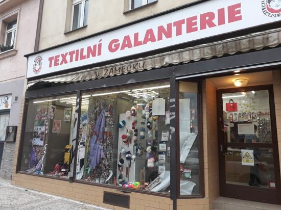 Nově otevřená prodejna galanterie