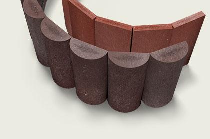 Recyklované plastové palisády Lázně Bohdaneč - palisády z kvalitního materiálu Traplast