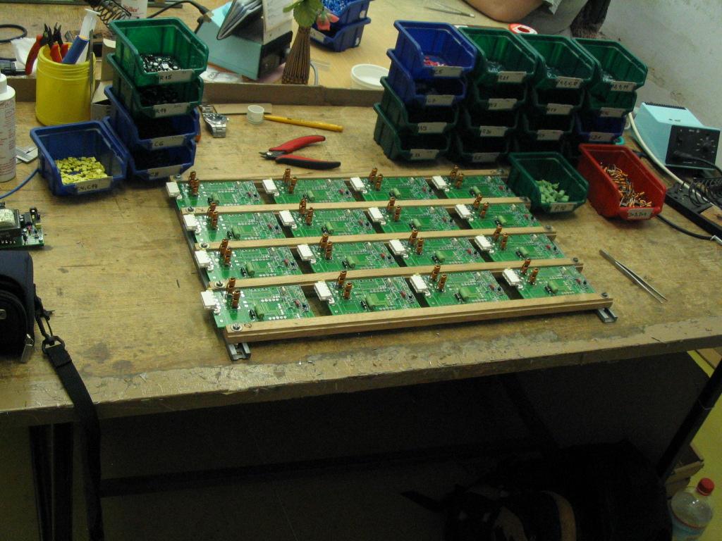Malé i velké série elektroniky - výroba