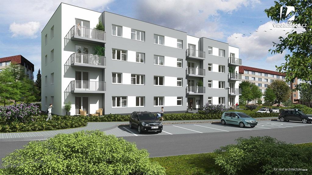 Bytový komplex Residence Forota v Bystřici nad Pernštejnem