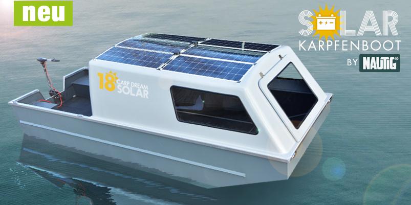 Rybářská, hliníková loď se solárním pohonem - výroba a úprava