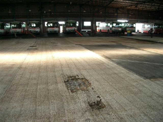 Opravy průmyslových podlah