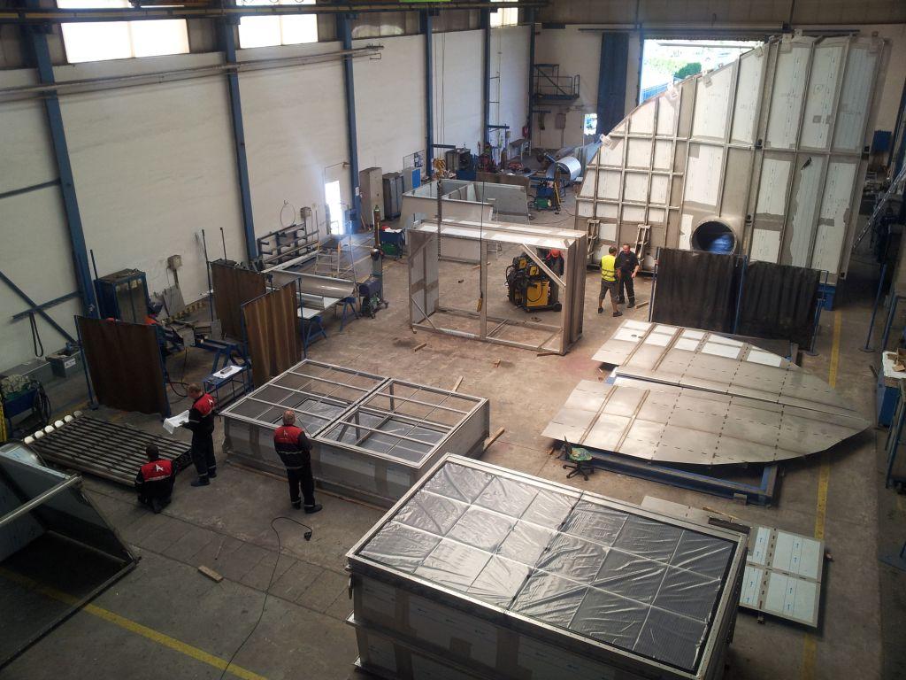 Zabýváme se výrobou zařízení z nerezové a uhlíkové oceli
