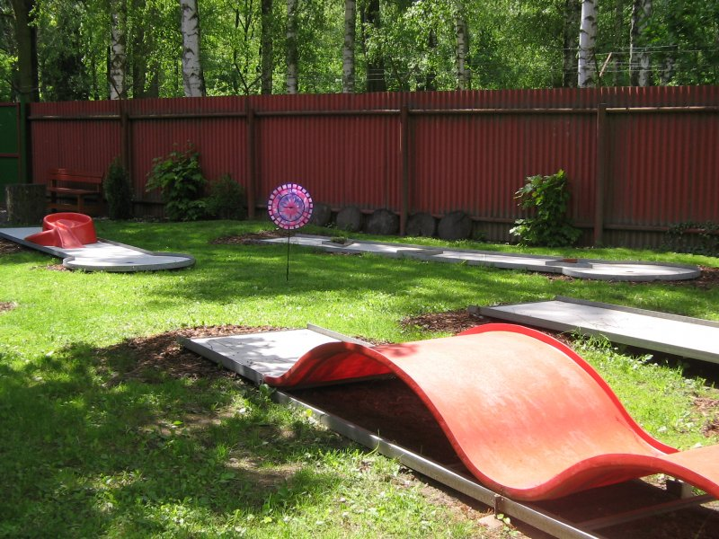 Minigolf Ústí nad Orlicí - Rekreační hraní minigolfu