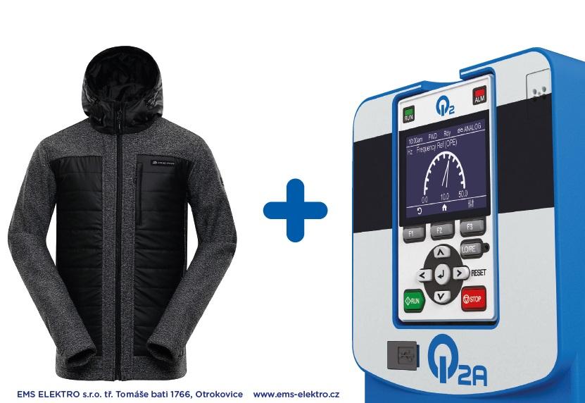 Frekvenční měniče Omron k řízení strojů - výhodný nákup, nyní bunda jako dárek