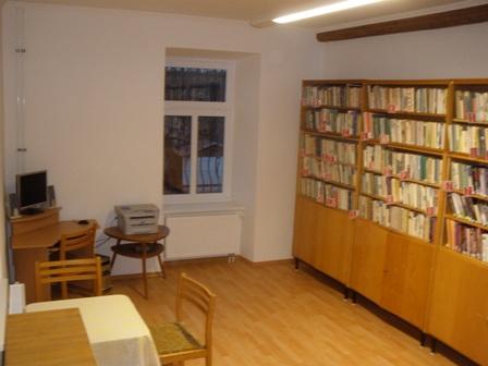Otevírací doba knihovny Kraselov