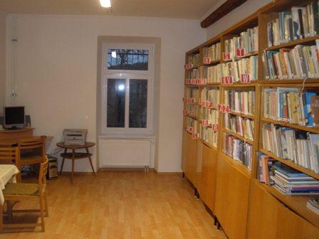 Vypůjčení knih v Klaselově
