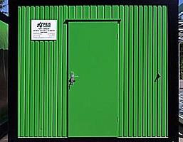 Výroba vnitřních ocelových dveří a zárubní - plechové dveře