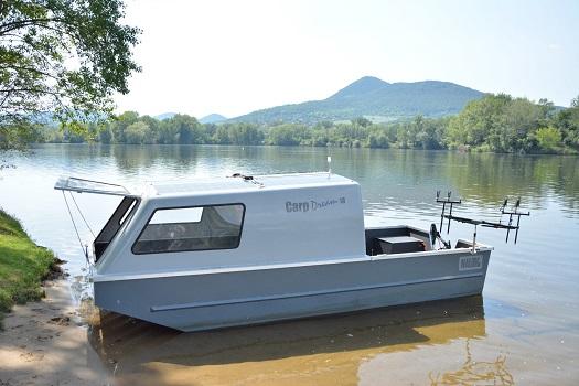 Bivakovací hliníkové rybářské lodě pro sportovní rybolov
