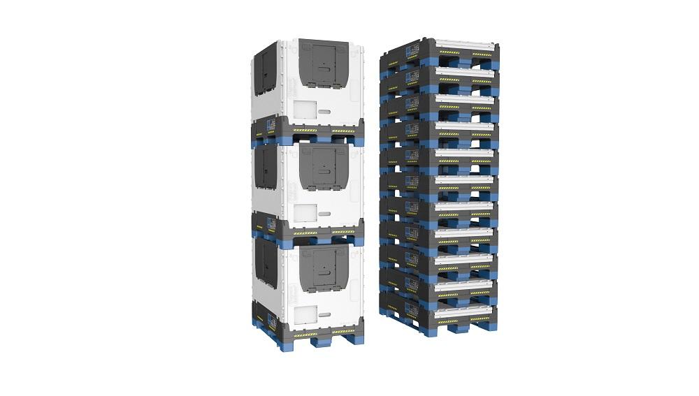 Skládací paletové kontejnery, které šetří logistické náklady a zajišťují návratnost investic