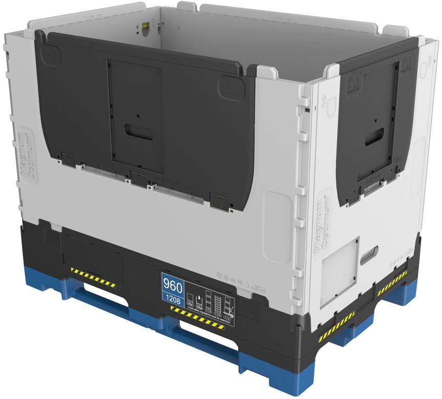 Nový skládací kontejner Magnum Optimum 1208