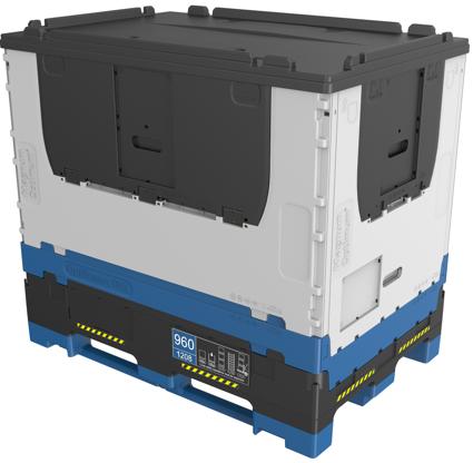 Přídavný rámeček Optiframe - navýšení objemu kontejneru