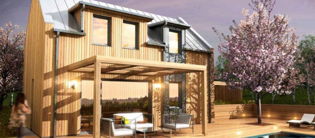 Dřevostavby - vzorové domy