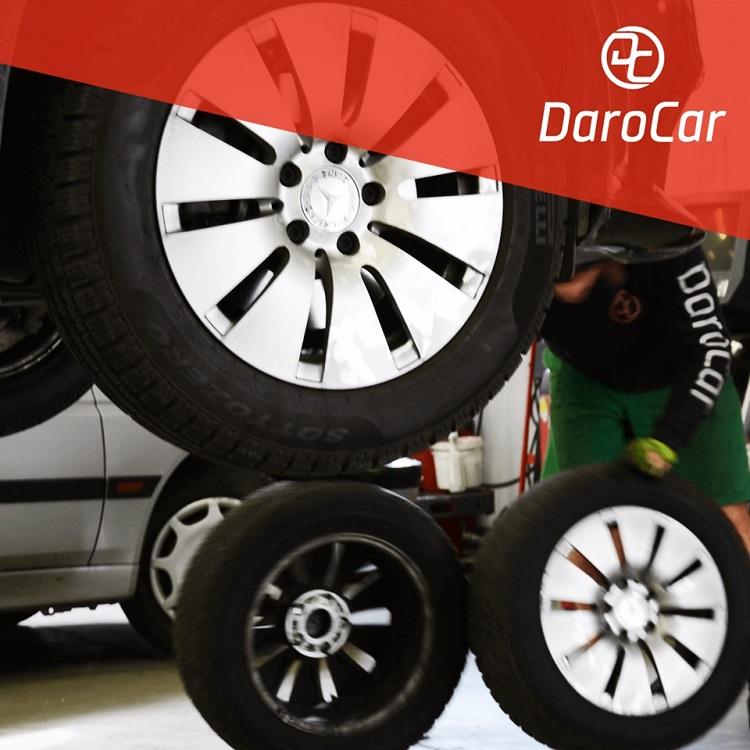 přezutí pneu a výměna kol - DARO CAR Zlín