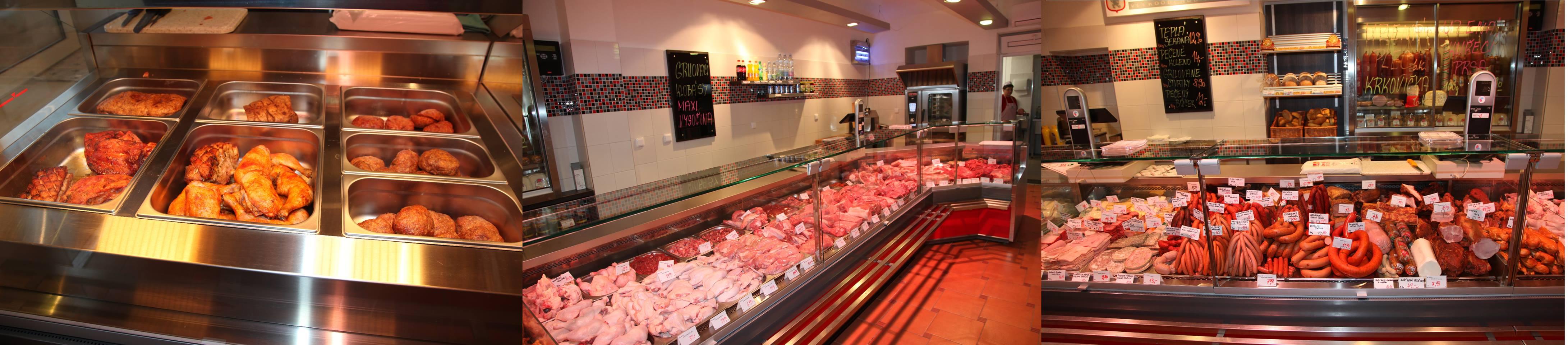 Čerstvé výsekové maso, uzenářská výroba, velkoobchod a síť severočeských prodejen