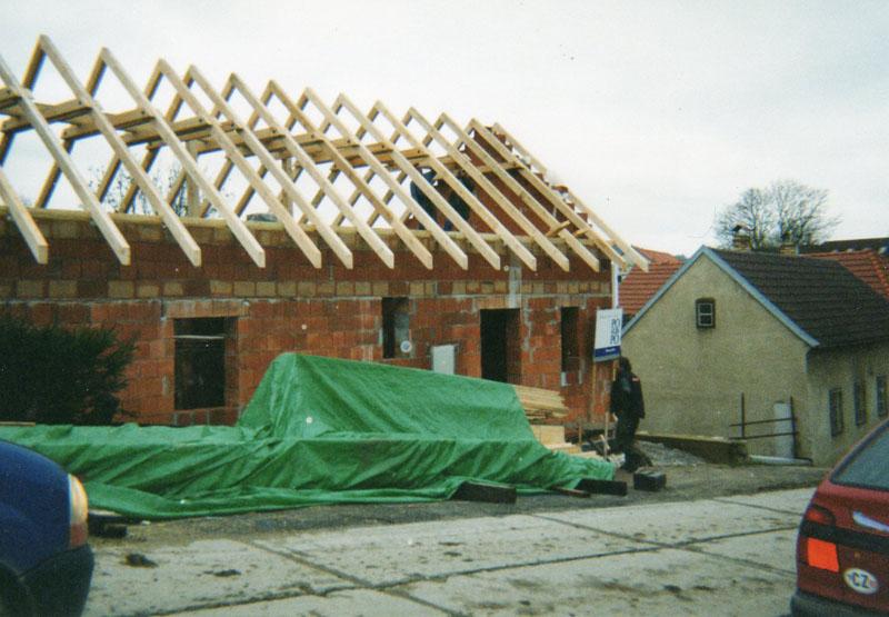 Tesařské práce Český Krumlov - Kaplice – nové střechy i rekonstrukce, půdní vestavby, pergoly