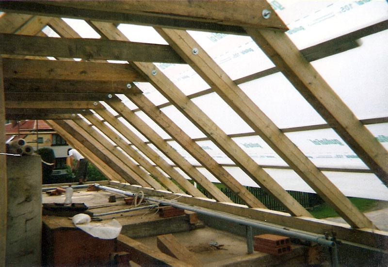 Opravy krovů a rekonstrukce střech