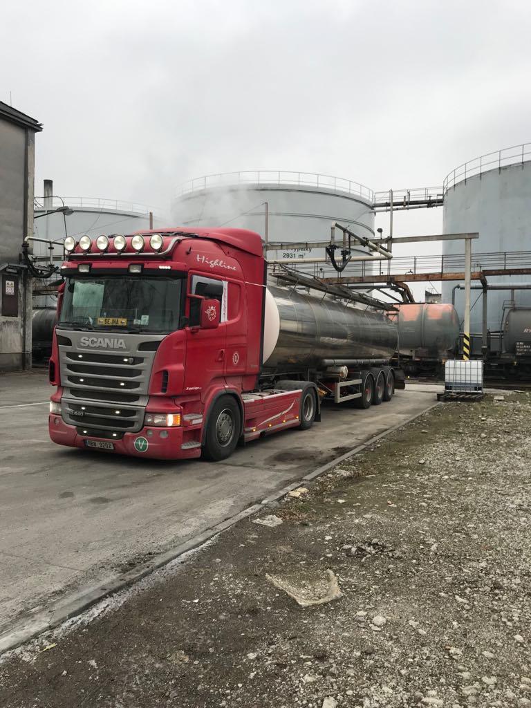 Cisternová přeprava zemědělských komodit, JK speed kipper s.r.o.