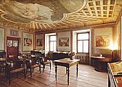 Obec Osice, Škroupův dům, pamětní síň, pomník