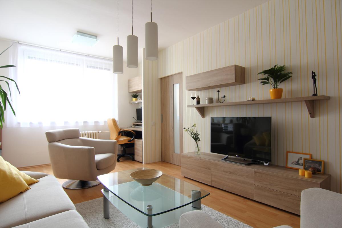 Vizualizace interiéru bytu