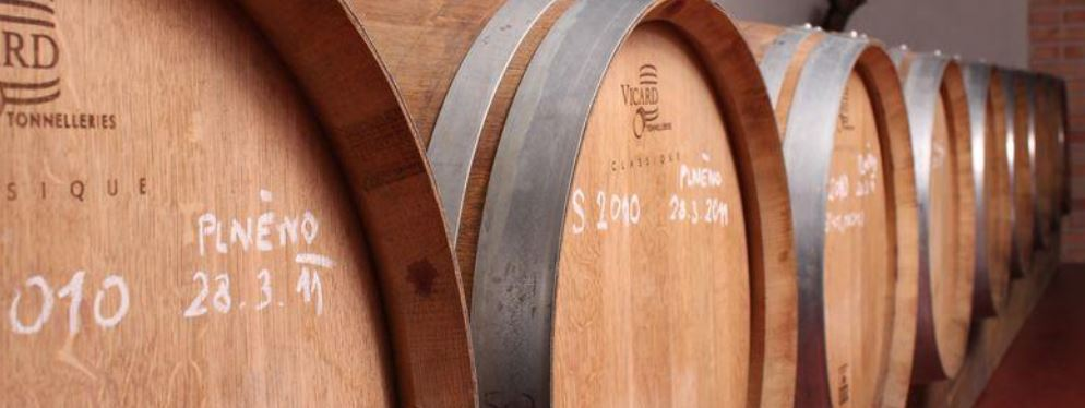 Vína v sudu