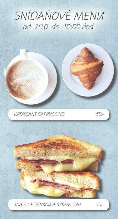 Kam na snídani nebo svačinu v Opavě – stylová kavárna, příjemné prostředí a čerstvé snídaňové menu