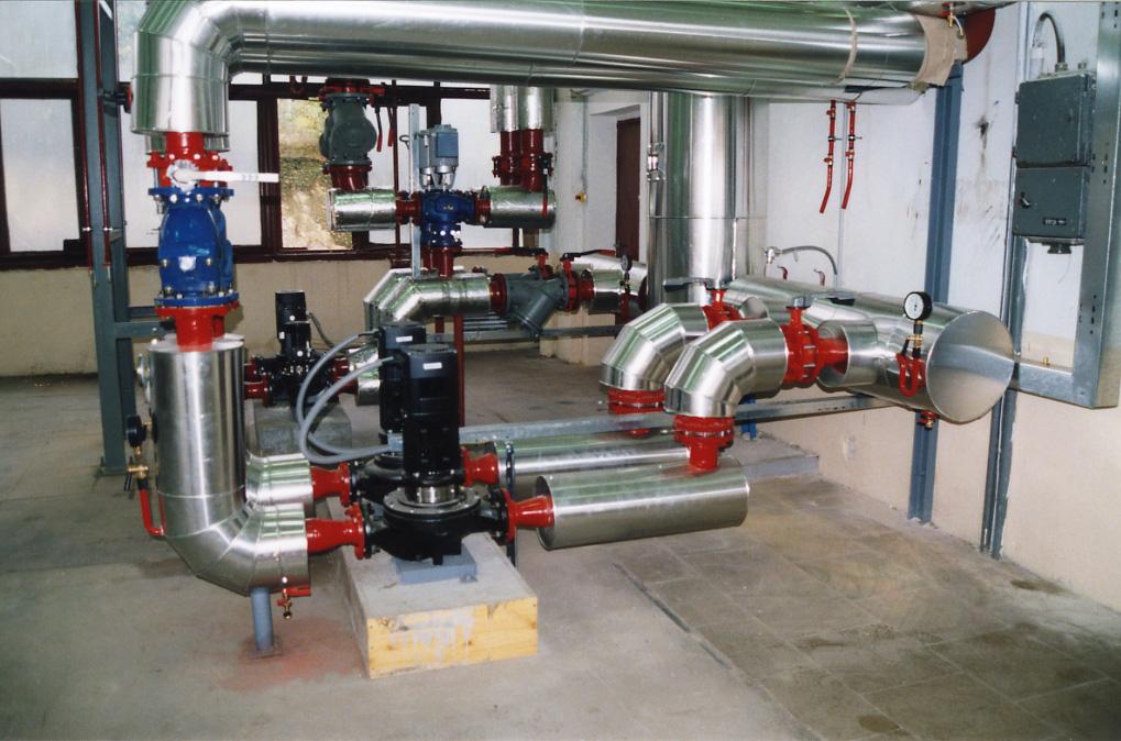 Instalace vody, topení a plynu, revize a čištění kanalizace