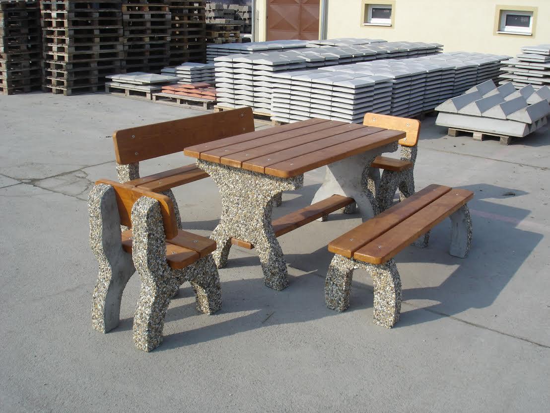 Zahradní nábytek z betonu