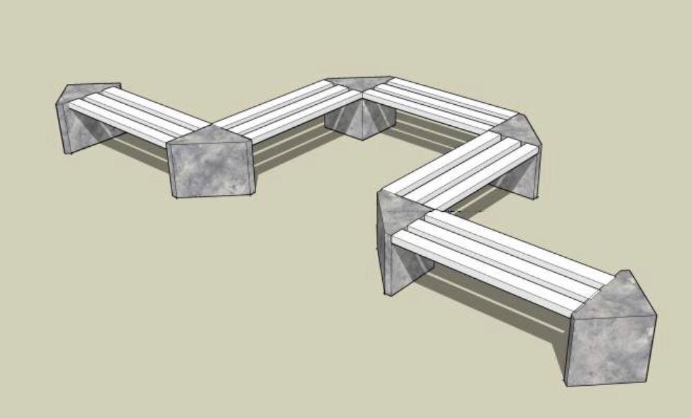 Prefabrikáty pro betonové lavičky