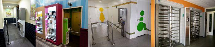 Mincovní automaty Hradec Králové - Turnikety pro WC s mincovním automatem