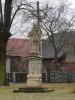 Obec Sukorady, historické památky, socha svatého Václava