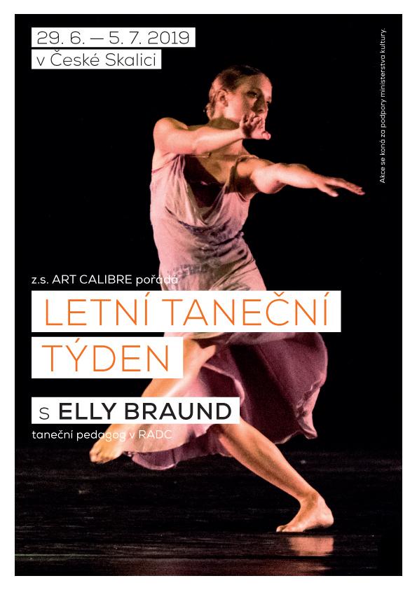 Letní taneční týden a pravidelné lekce moderního tance