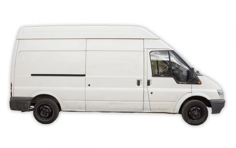 pronájem dodávky Ford Transit LWB - Zlínský kraj