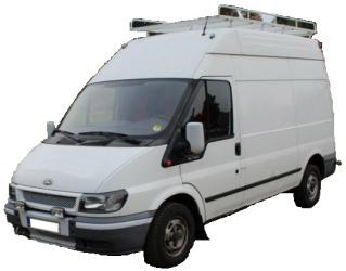 pronájem dodávky Zlínský kraj - Ford Transit MWB