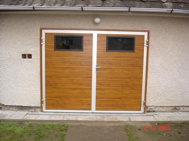 Otevíravá garážová vrata