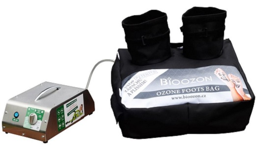 Ozonový vak na nohy – napomáhá s odstraněním plísňových chorob i proti syndromu diabetické nohy