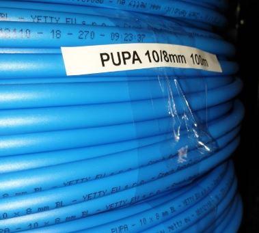 Odolné vzduchové hadice pro potravinářský průmysl – pneumatikářské hadice PUPA