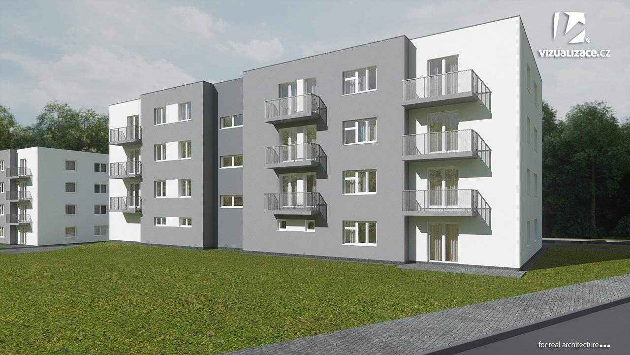 Komfortní byty na Vysočině – nové bytové domy