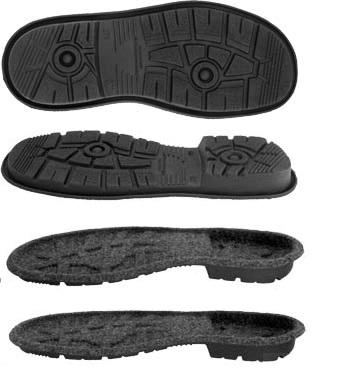 výroba podešví pro bojovou obuv
